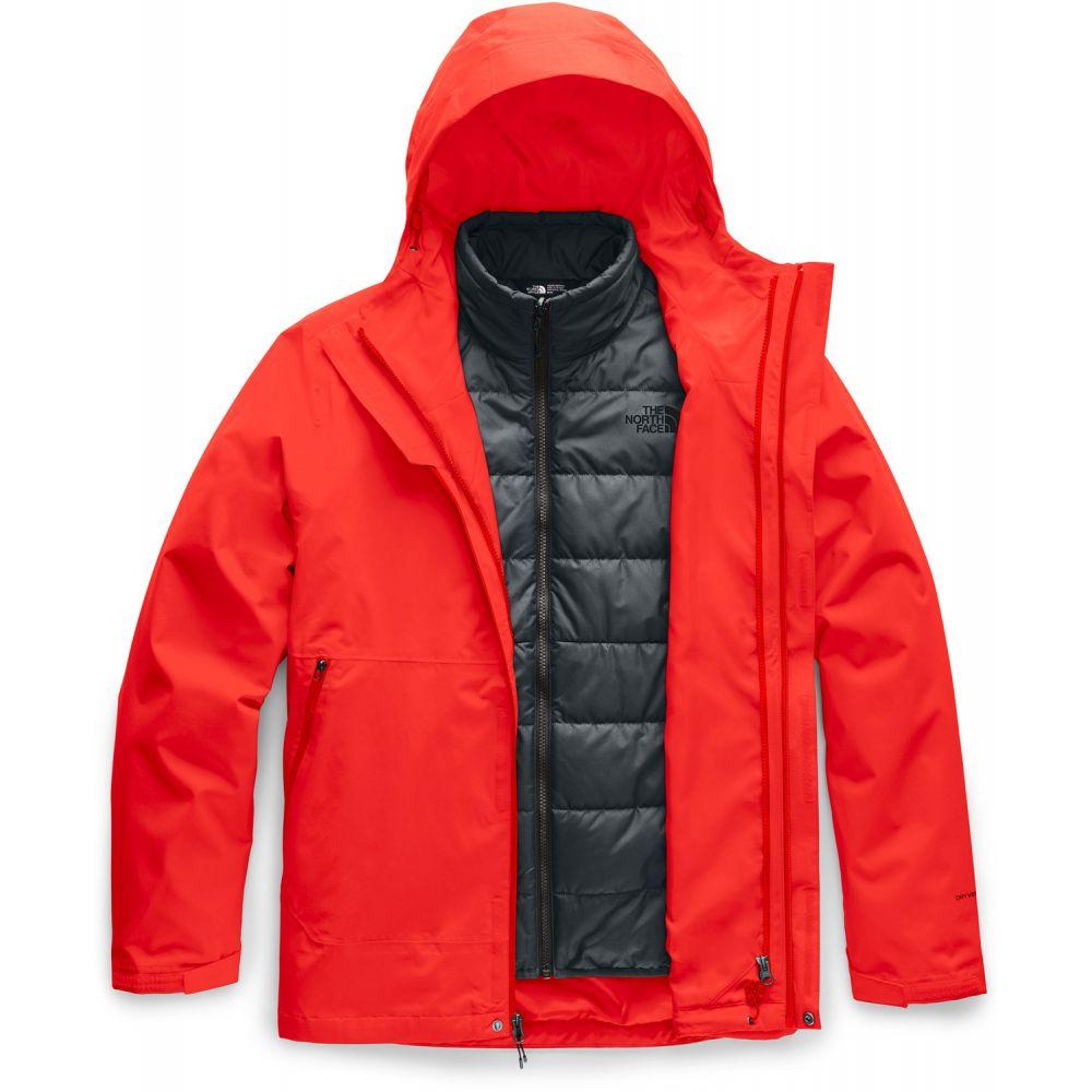ザ ノースフェイス The North Face メンズ スキー・スノーボード ジャケット アウター【Carto Triclimate Ski Jacket】Fiery Red/Asphalt Grey