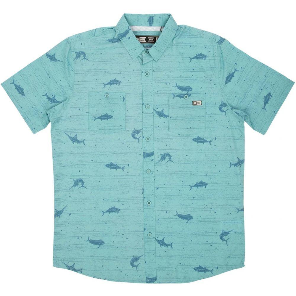 ソルティークルー Salty Crew メンズ トップス 【Horizon UV Woven Shirt】Dusty Blue