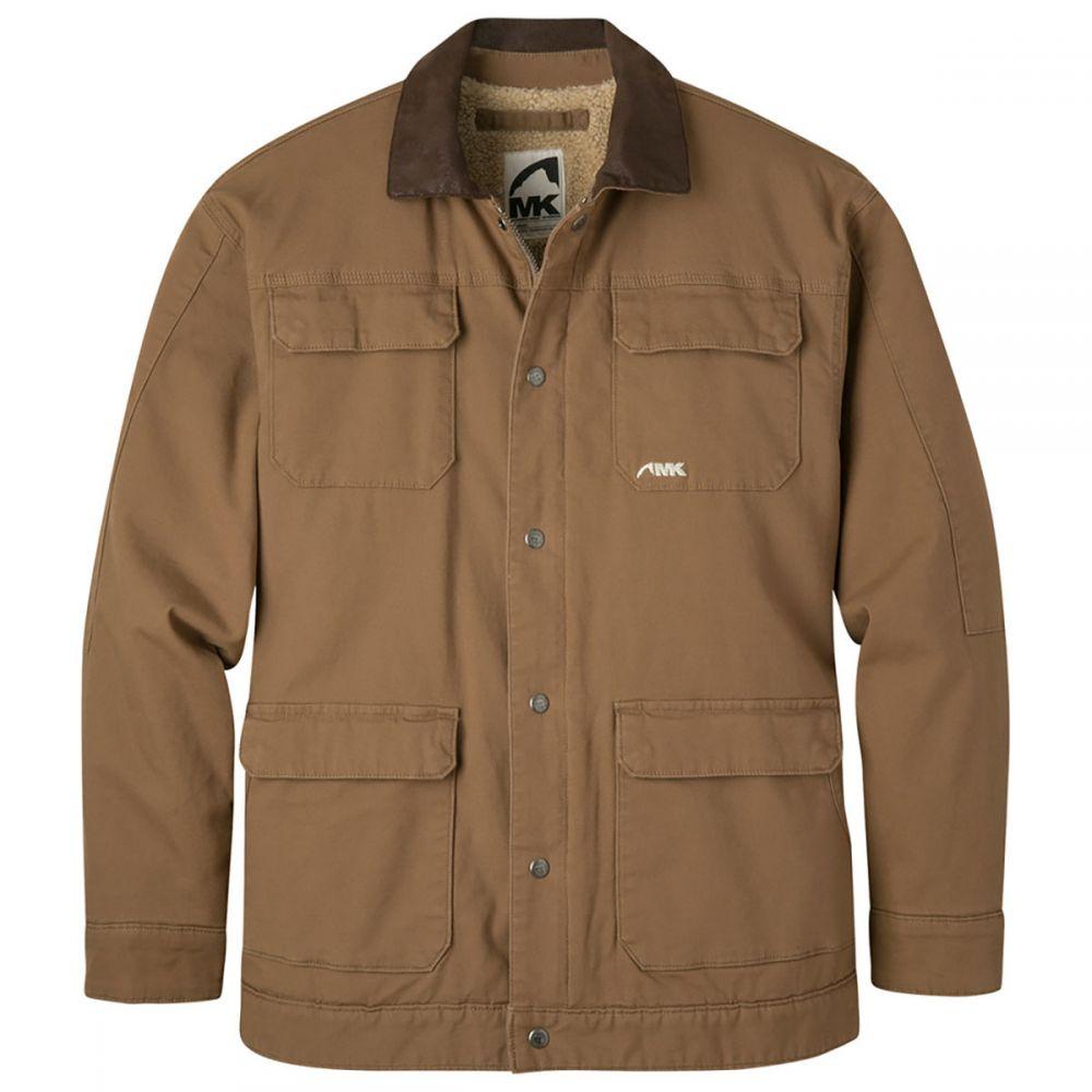 マウンテンカーキス Mountain Khakis メンズ ジャケット シアリング アウター【Ranch Shearling Jacket】Tobacco