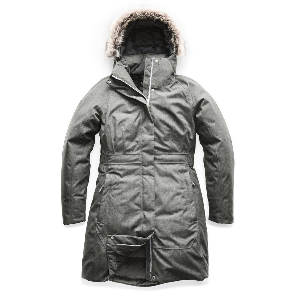 ザ ノースフェイス The North Face レディース コート アウター【Arctic Parka II Jacket】TNF Medium Grey Heather