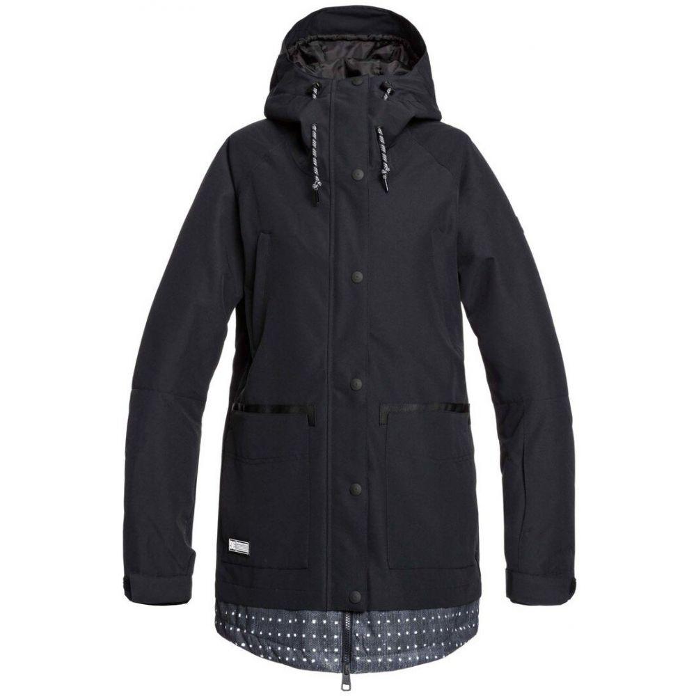 ディーシー DC レディース スキー・スノーボード ジャケット アウター【Riji Snowboard Jacket】Black