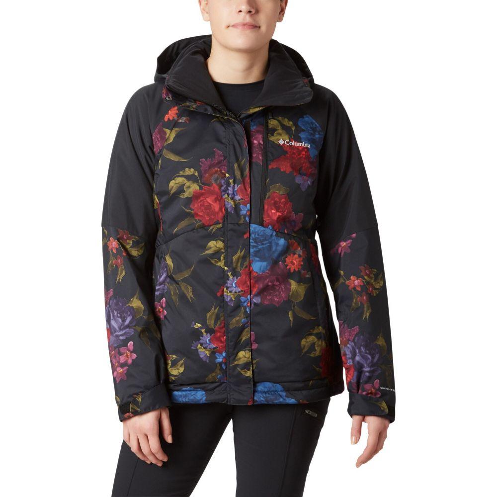 コロンビア Columbia レディース スキー・スノーボード ジャケット アウター【Wildside Snowboard Jacket】Black Floral Print/Black