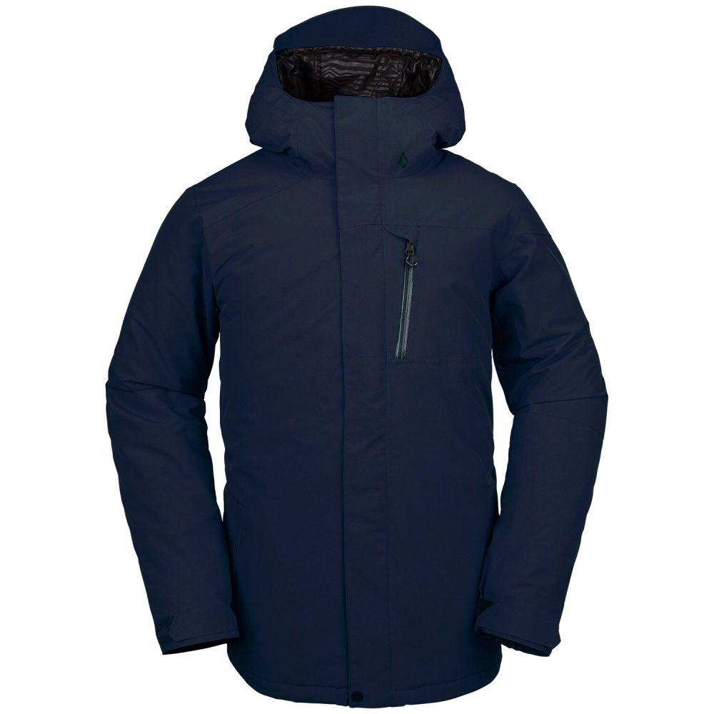 ボルコム Volcom メンズ スキー・スノーボード ジャケット アウター【L Insulated Gore-Tex Snowboard Jacket】Navy