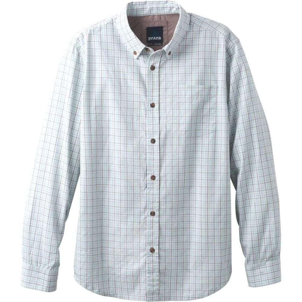 プラーナ Prana メンズ シャツ トップス【Broderick Check L/S Shirt】Succulent Green