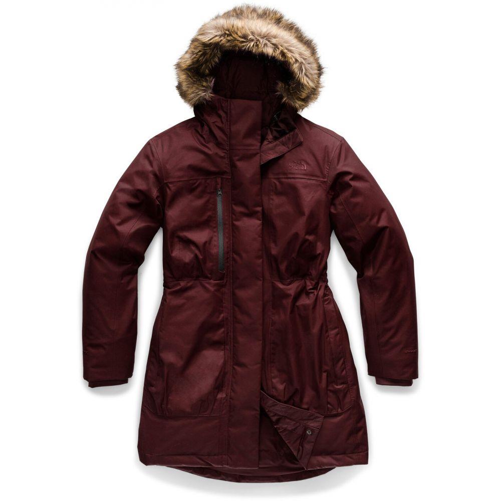 ザ ノースフェイス The North Face レディース ダウン・中綿ジャケット アウター【Downtown Parka Jacket】Deep Garnet Red