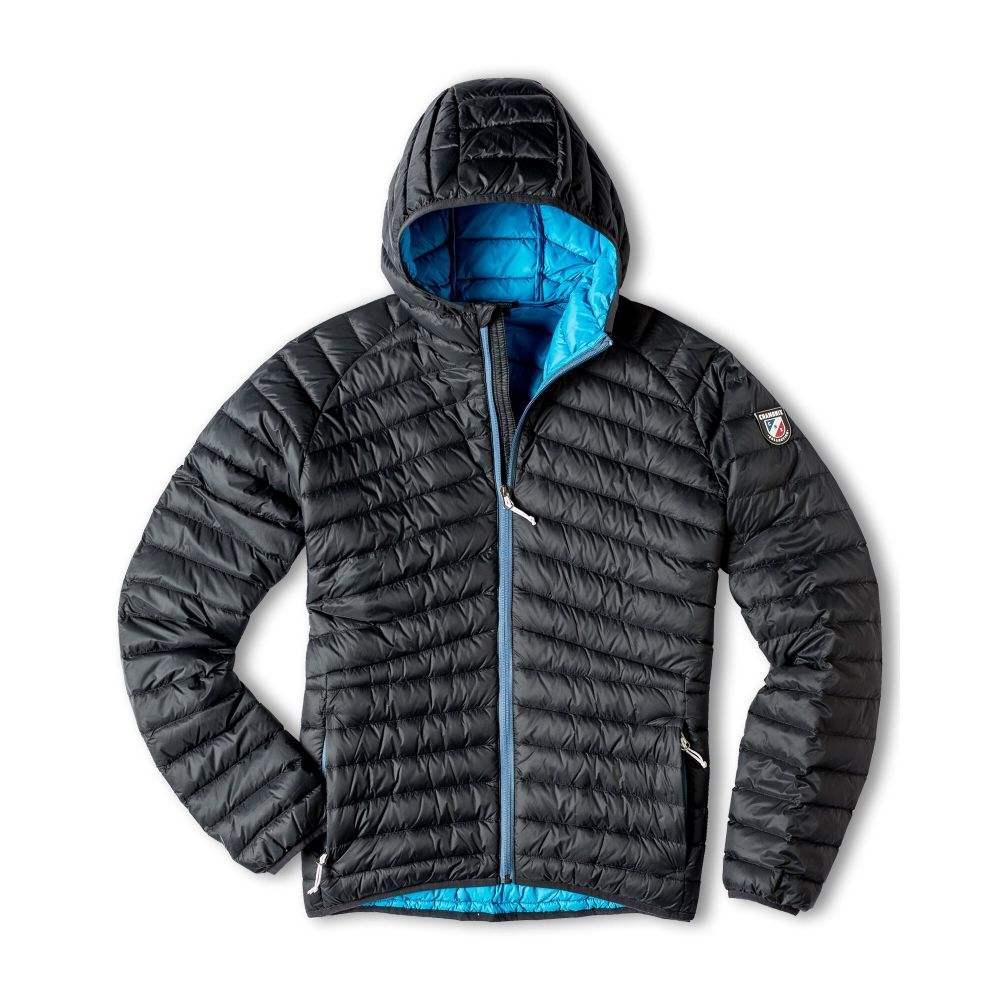 シャモニー Chamonix メンズ ダウン・中綿ジャケット フード アウター【Garat Hooded Down Jacket 2019】Black