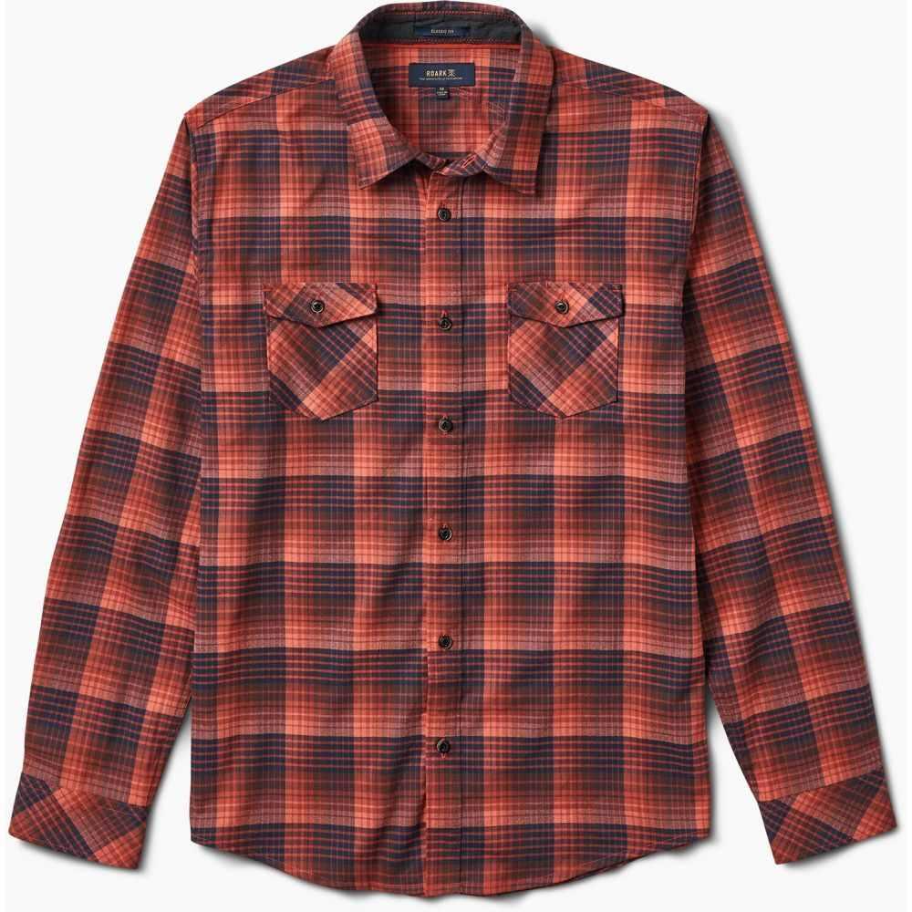 ローアク Roark メンズ シャツ トップス【Portree Flannel】Red