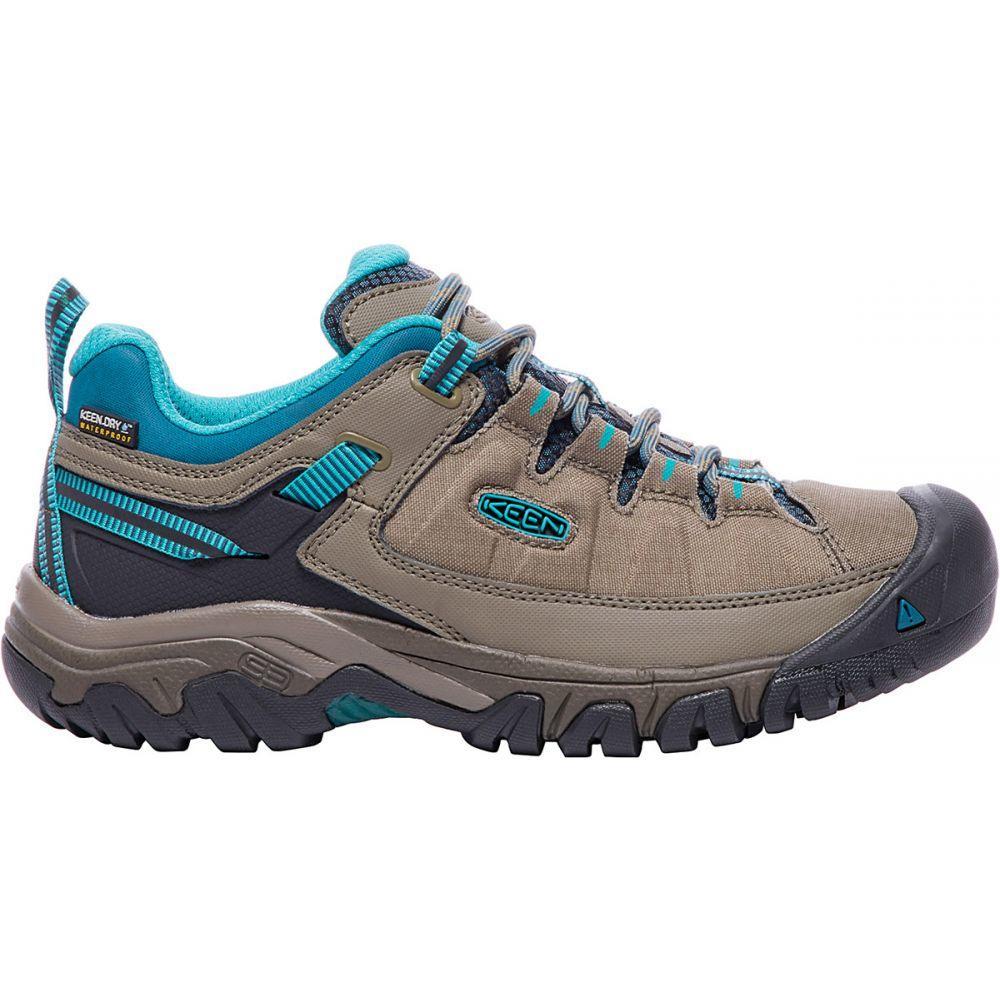 キーン Keen レディース ハイキング・登山 シューズ・靴【Targhee Exp WP Hiking Shoes】Brindle/Blue Coral