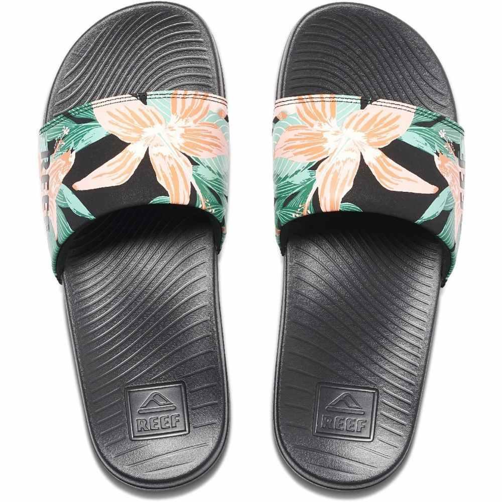 リーフ Reef レディース サンダル・ミュール シューズ・靴【One Slide Sandals】Hibiscus
