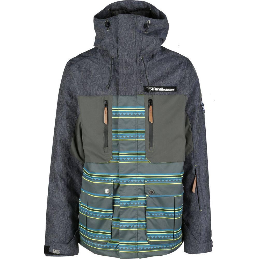 リホール Rehall メンズ スキー・スノーボード ジャケット アウター【Hampton Snowboard Jacket】Inka Yellow