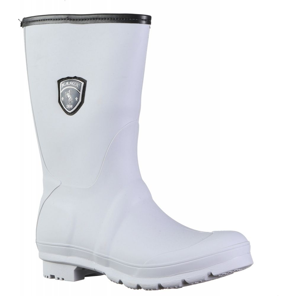 カミック Kamik レディース レインシューズ・長靴 シューズ・靴【Jenny Rain Boots】Light Grey
