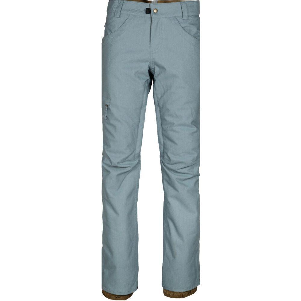 シックス エイト シックス 686 レディース スキー・スノーボード ボトムス・パンツ【Patron Insulated Snowboard Pants】Lt Blue Denim