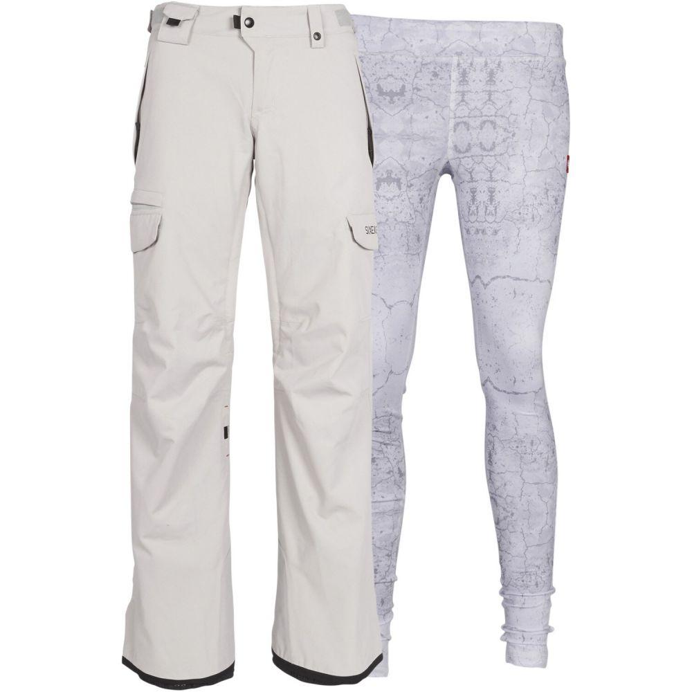 シックス エイト シックス 686 レディース スキー・スノーボード カーゴ ボトムス・パンツ【Smarty 3-in-1 Cargo Snowboard Pants】Grey