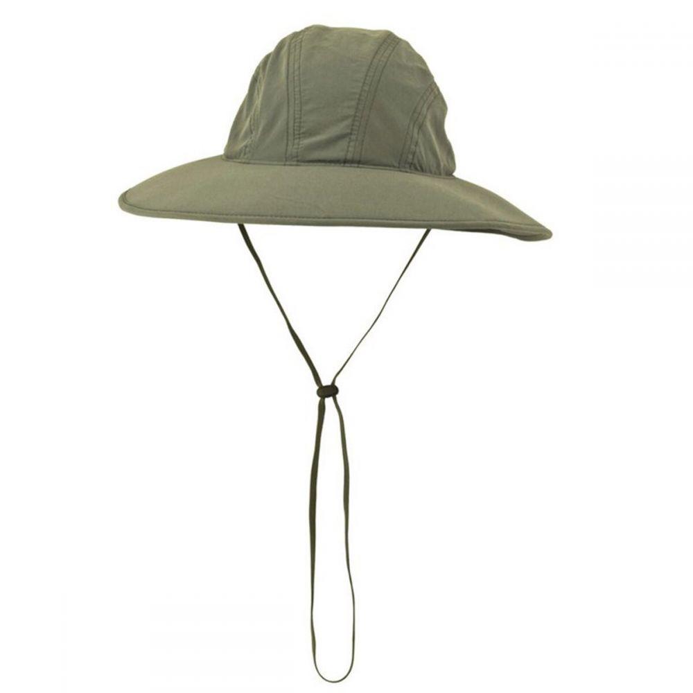 ホワイトシエラ White Sierra レディース ハット サンハット 帽子【Bug-Free Sun Hat】Deep Lichen Green