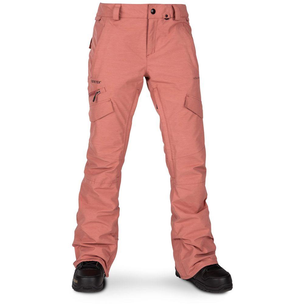ボルコム Volcom レディース スキー・スノーボード ボトムス・パンツ【Aston Gore-Tex Snowboard Pants】Mauve