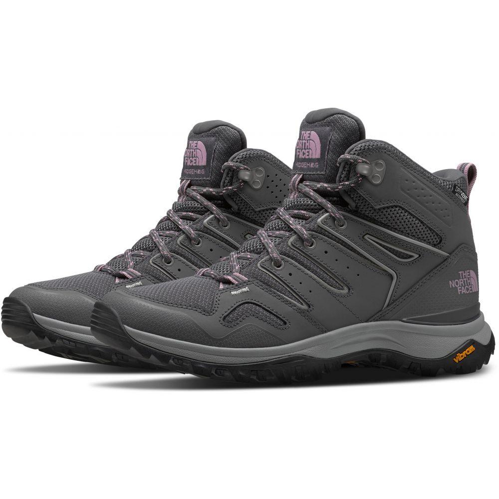 ザ ノースフェイス The North Face レディース ハイキング・登山 ブーツ シューズ・靴【Hedgehog Fastpack II Mid WP Hiking Boots】Zinc Grey/Mauve Shadows