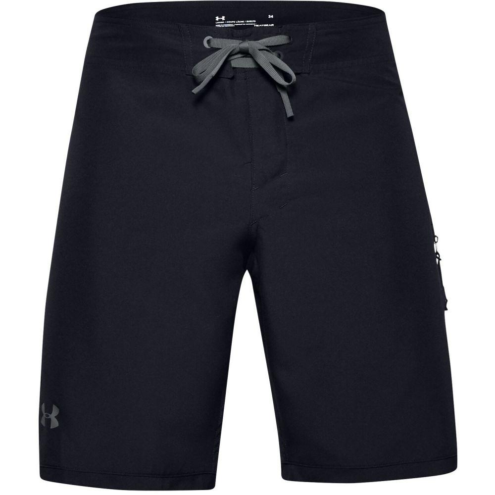 アンダーアーマー Under Armour メンズ 海パン 水着・ビーチウェア【Shorebreak 19in Boardshorts】Black/Pitch Grey