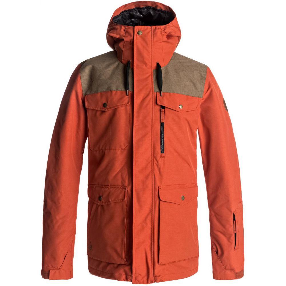 クイックシルバー Quiksilver メンズ スキー・スノーボード ジャケット アウター【Raft Snowboard Jacket】Ketchup Red