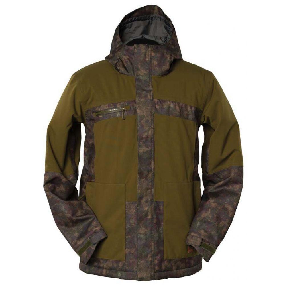 ボンファイヤー Bonfire メンズ スキー・スノーボード ジャケット アウター【Klamath Snowboard Jacket】Dark Moss