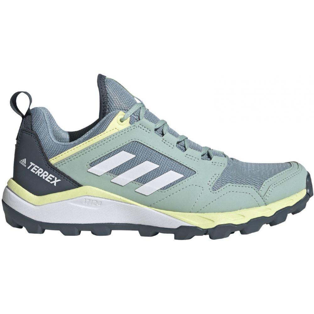 アディダス Adidas レディース ランニング・ウォーキング シューズ・靴【Terrex Agravic TR Trail Running Shoes】Ash Grey/White/Yellow Tint