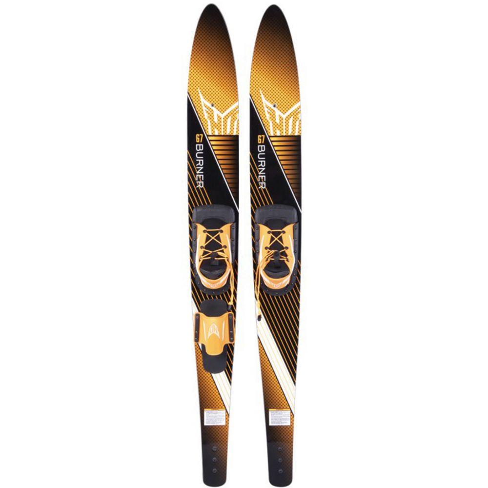 HO メンズ スキー・スノーボード ビンディング【Burner Combo Skis w/ Trainer Bar Bindings】