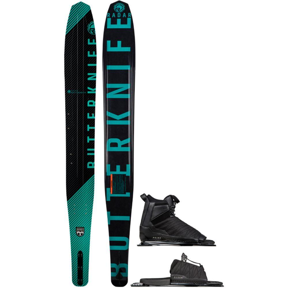 レーダー Radar レディース スキー・スノーボード ビンディング【Butter Knife Slalom Ski w/ Prime/ARTP Bindings】Black/Teal