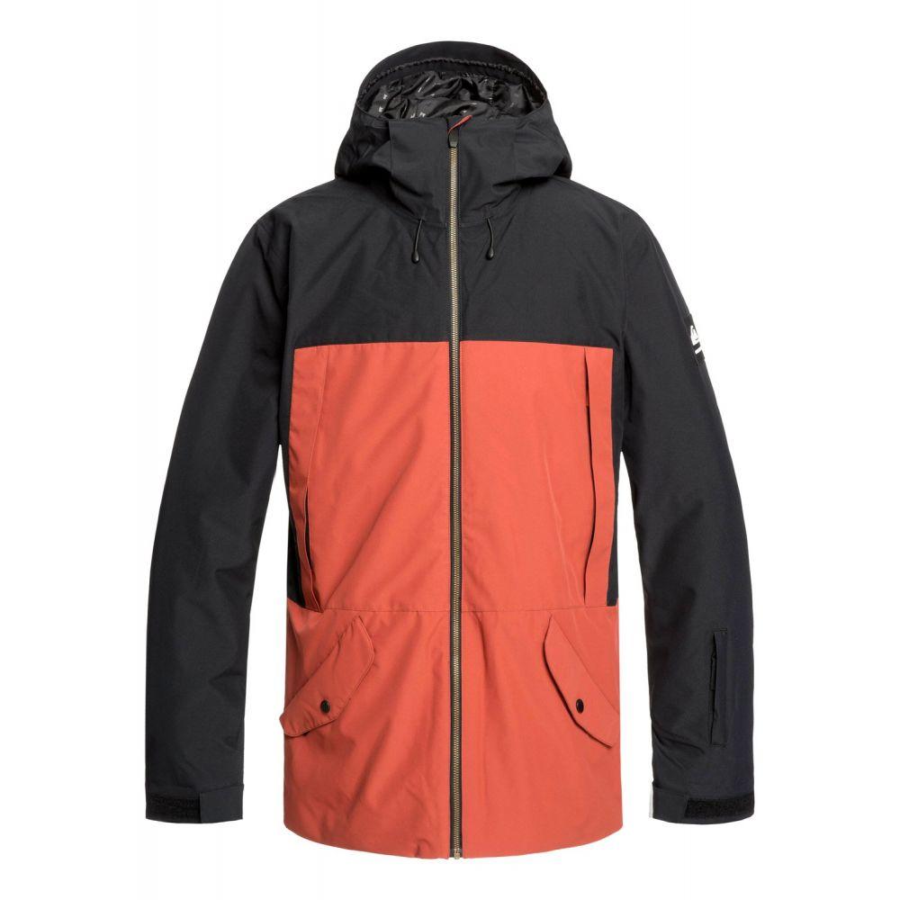 クイックシルバー Quiksilver メンズ スキー・スノーボード ジャケット アウター【TR Ambition Snowboard Jacket】Black