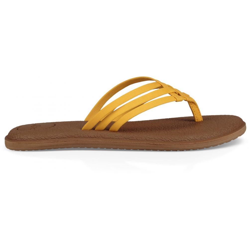 サヌーク Sanuk レディース ヨガ・ピラティス サンダル シューズ・靴【Yoga Salty Sandals】Golden Rod