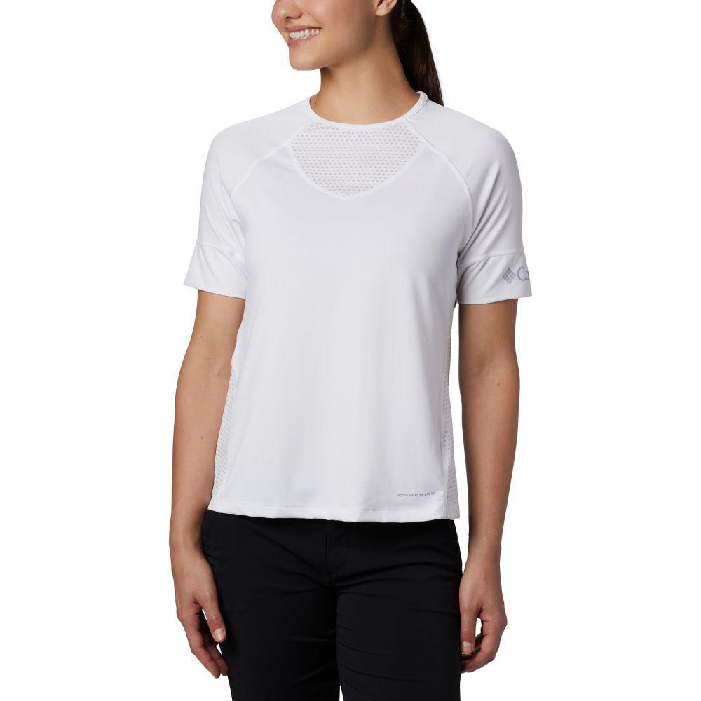コロンビア Columbia レディース Tシャツ トップス【Windgates T-Shirt】White