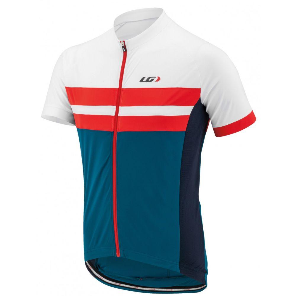 ルイガノ Louis Garneau メンズ 自転車 トップス【Evans Classic Bike Jersey】Blue/White