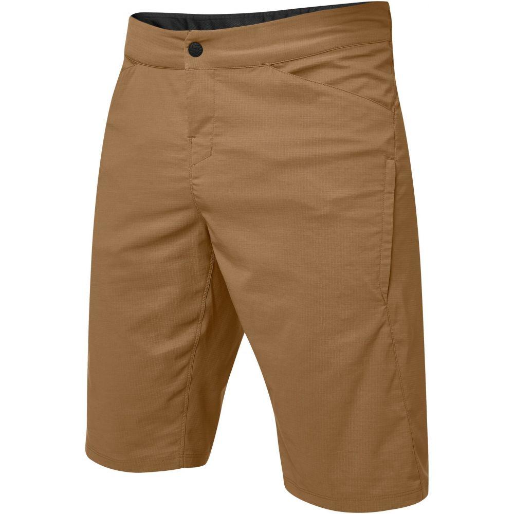フォックス メンズ 自転車 ボトムス パンツ Brown サイズ交換無料 Bike メーカー再生品 Shorts ショートパンツ Fox 即納 Utility Ranger