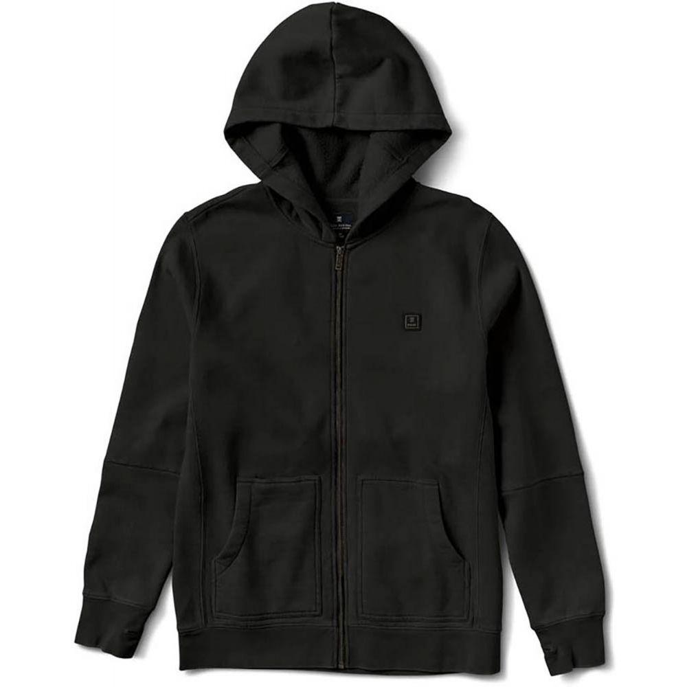 ローアク Roark メンズ スキー・スノーボード パーカー トップス【Well Worn Zip Hoodie】Black