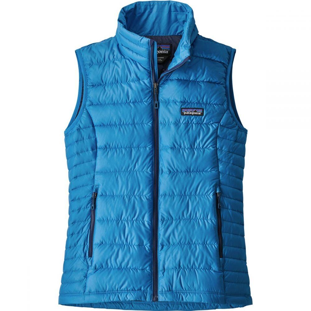 パタゴニア Patagonia レディース スキー・スノーボード ダウンベスト ダウン・中綿 ベスト・ジレ ニット・セーター トップス【Down Sweater Vest】Lapiz Blue