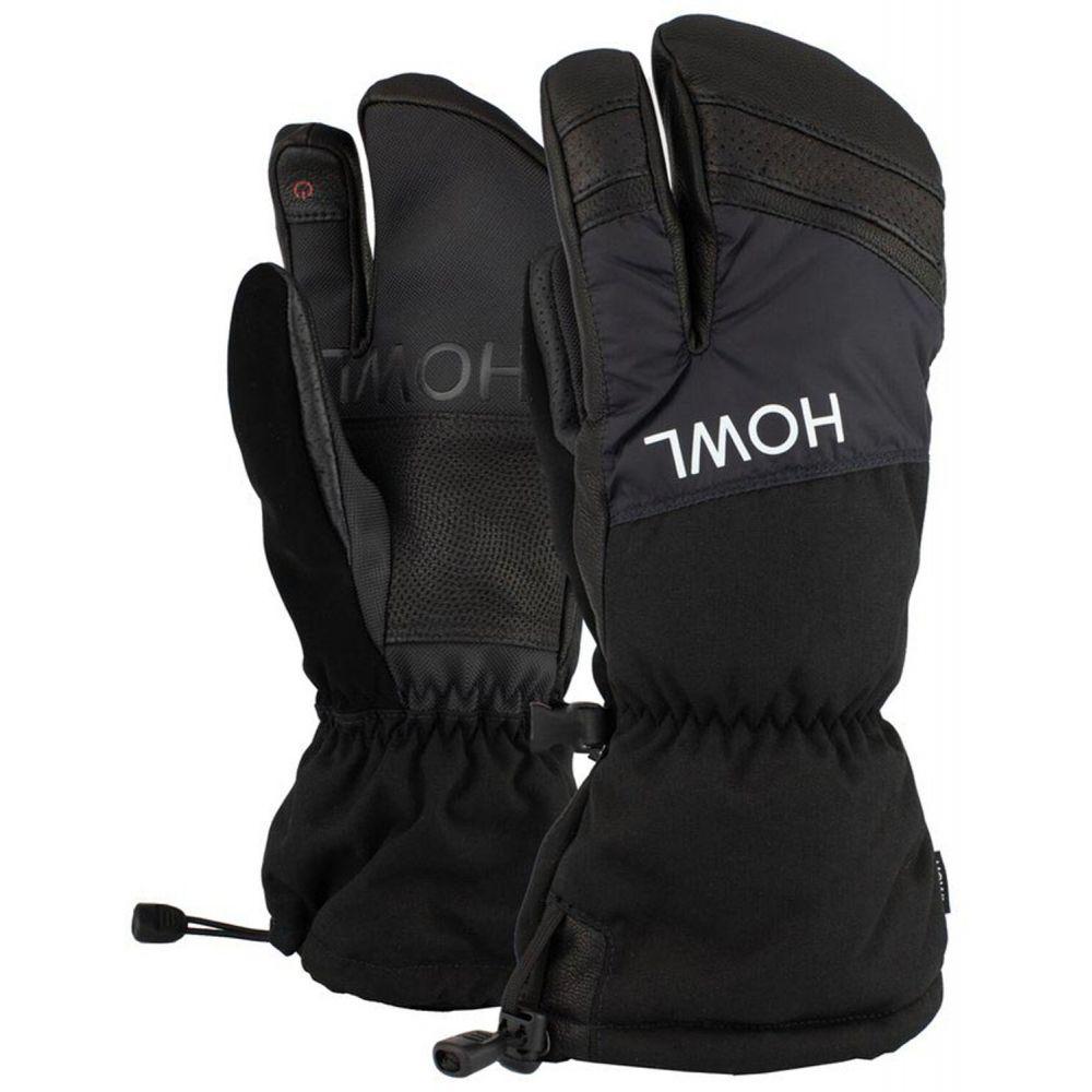 ハウル Howl メンズ スキー・スノーボード ミトン グローブ【Trigger Mittens】Black