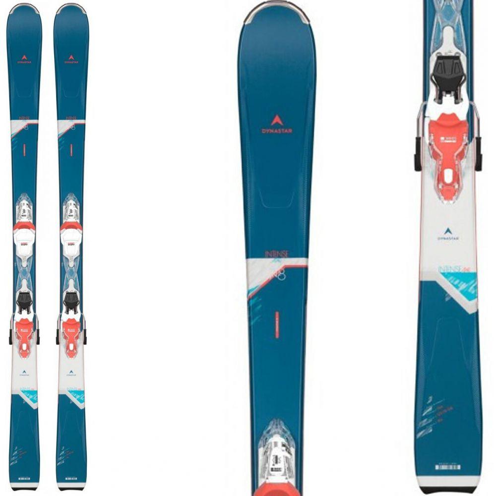 ダイナスター Dynastar レディース スキー・スノーボード ビンディング【Intense 4x4 78 Skis w/ Xpress W 11 Bindings 2020】White/Corrail/Fluorescent