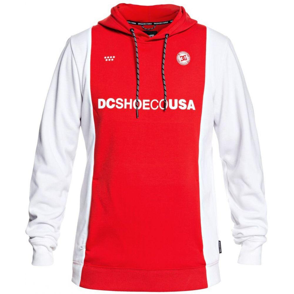 ディーシー DC メンズ スキー・スノーボード パーカー トップス【Snowstar FC PO DWR Hoodie】Racing Red