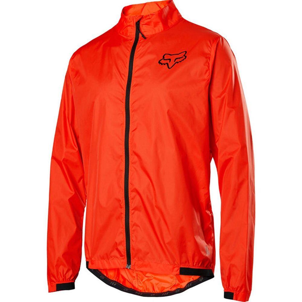 フォックス Fox メンズ 自転車 ウィンドブレーカー ジャケット アウター【Defend Wind Bike Jacket】Orange Crush