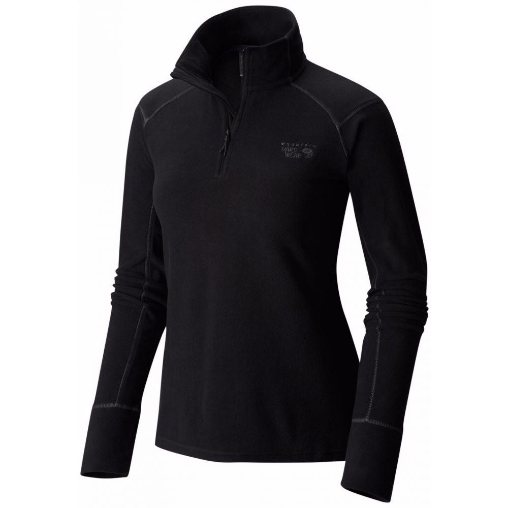 マウンテンハードウェア Mountain Hardwear レディース フリース トップス【Microchill 2.0 Zip Fleece】Black