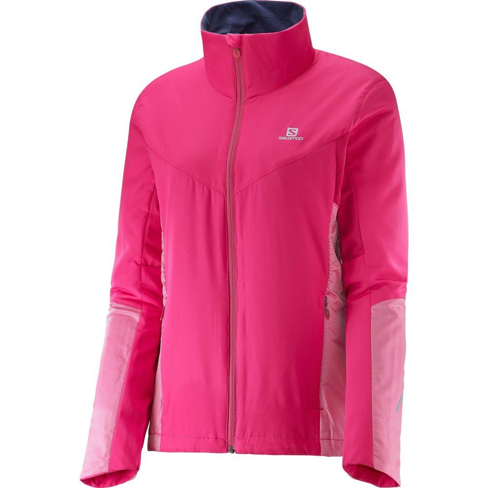 サロモン Salomon レディース スキー・スノーボード ジャケット アウター【Escape XC Ski Jacket】Yarrow Pink/Gaura Pink