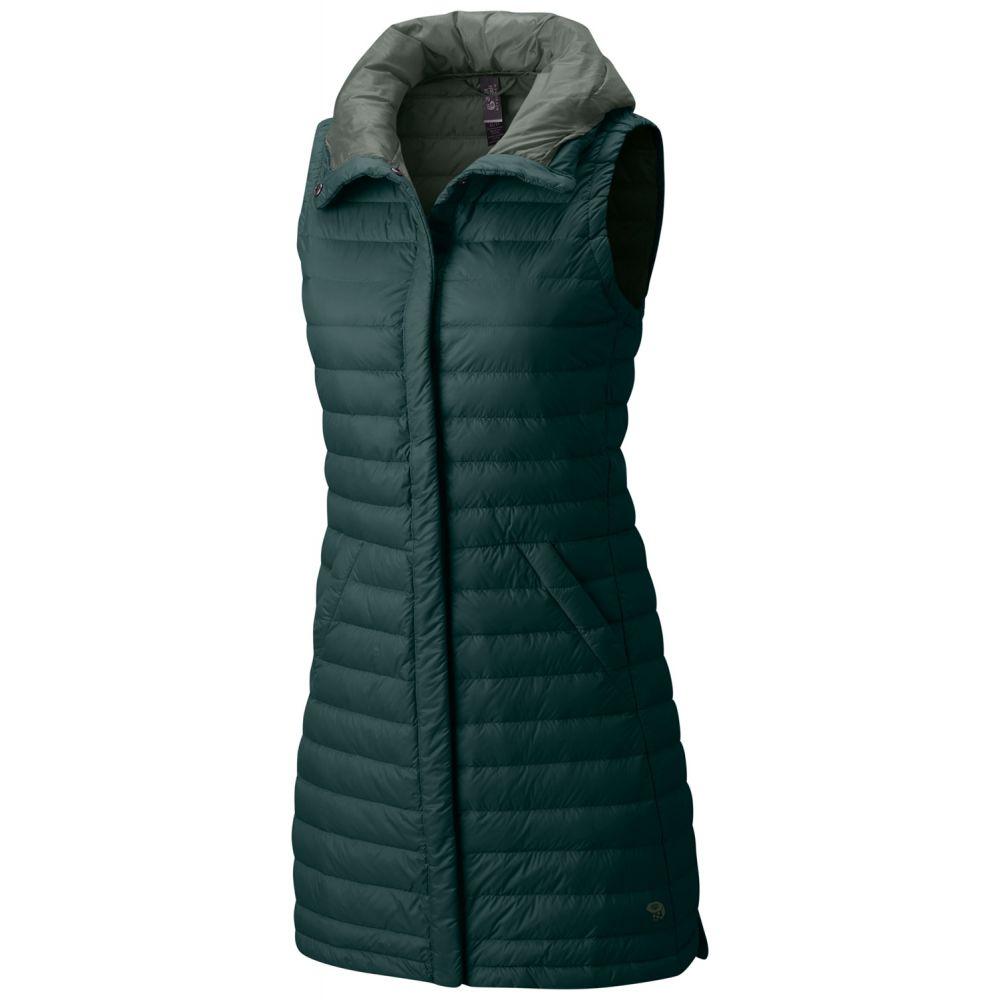 マウンテンハードウェア Mountain Hardwear レディース ベスト・ジレ トップス【Packdown Vest】Blue Spruce