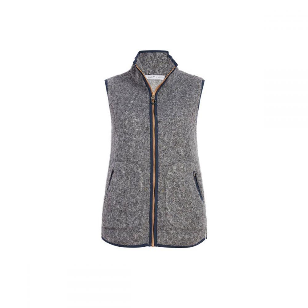 ウールリッチ Woolrich レディース ベスト・ジレ トップス【Siskiyou Fleece Vest】Grey Heather