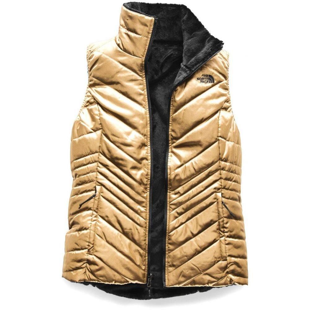 ザ ノースフェイス The North Face レディース ベスト・ジレ トップス【Mossbud Insulated Reversible Vest】Metallic Copper/TNF Black