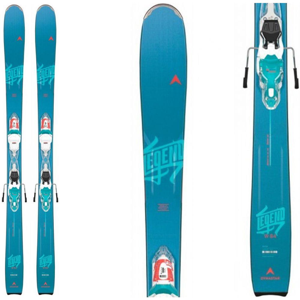 ダイナスター Dynastar レディース スキー・スノーボード ビンディング【Legend 84 Skis w/ Xpress W 10 Bindings 2020】White/Sparkle