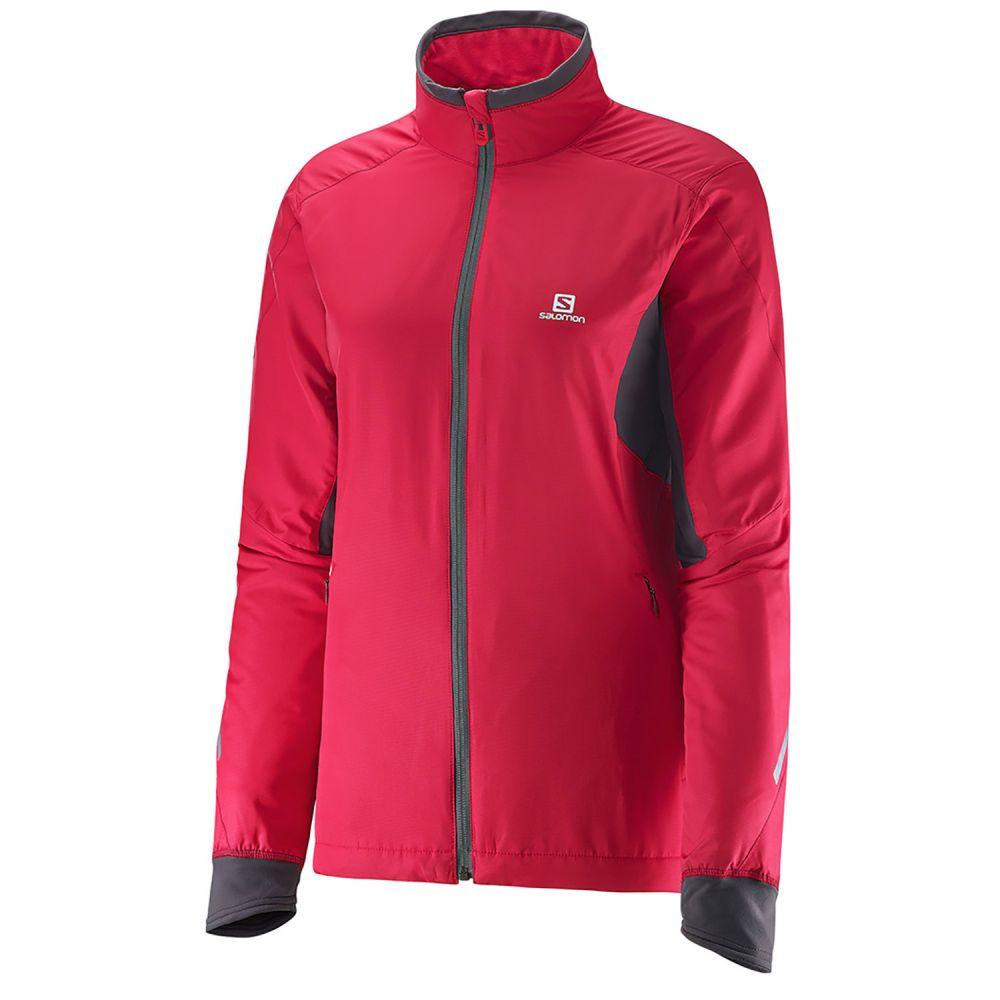 サロモン Salomon レディース スキー・スノーボード ジャケット アウター【Escape XC Ski Jacket】Lotus Pink/Galet Grey