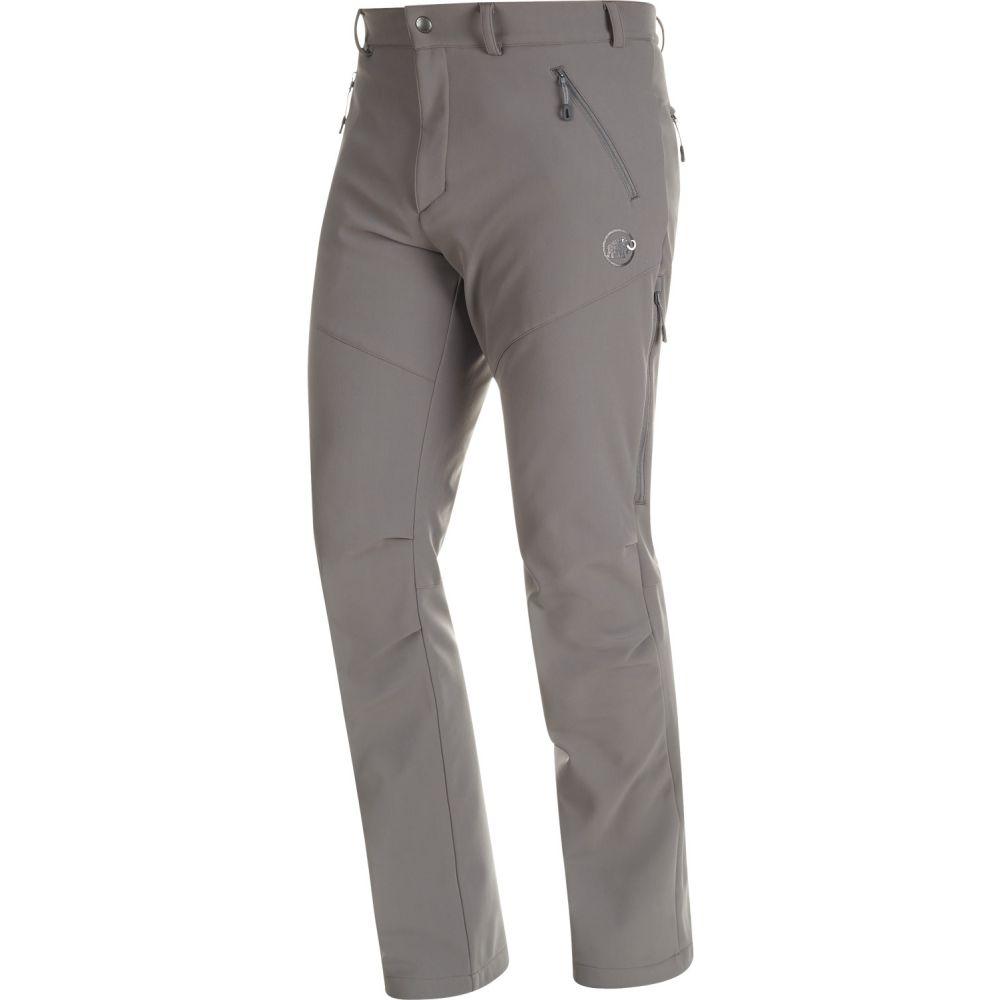 マムート Mammut メンズ スキー・スノーボード ソフトシェル ボトムス・パンツ【Winter Hiking Softshell XC Ski Pants】Titanium