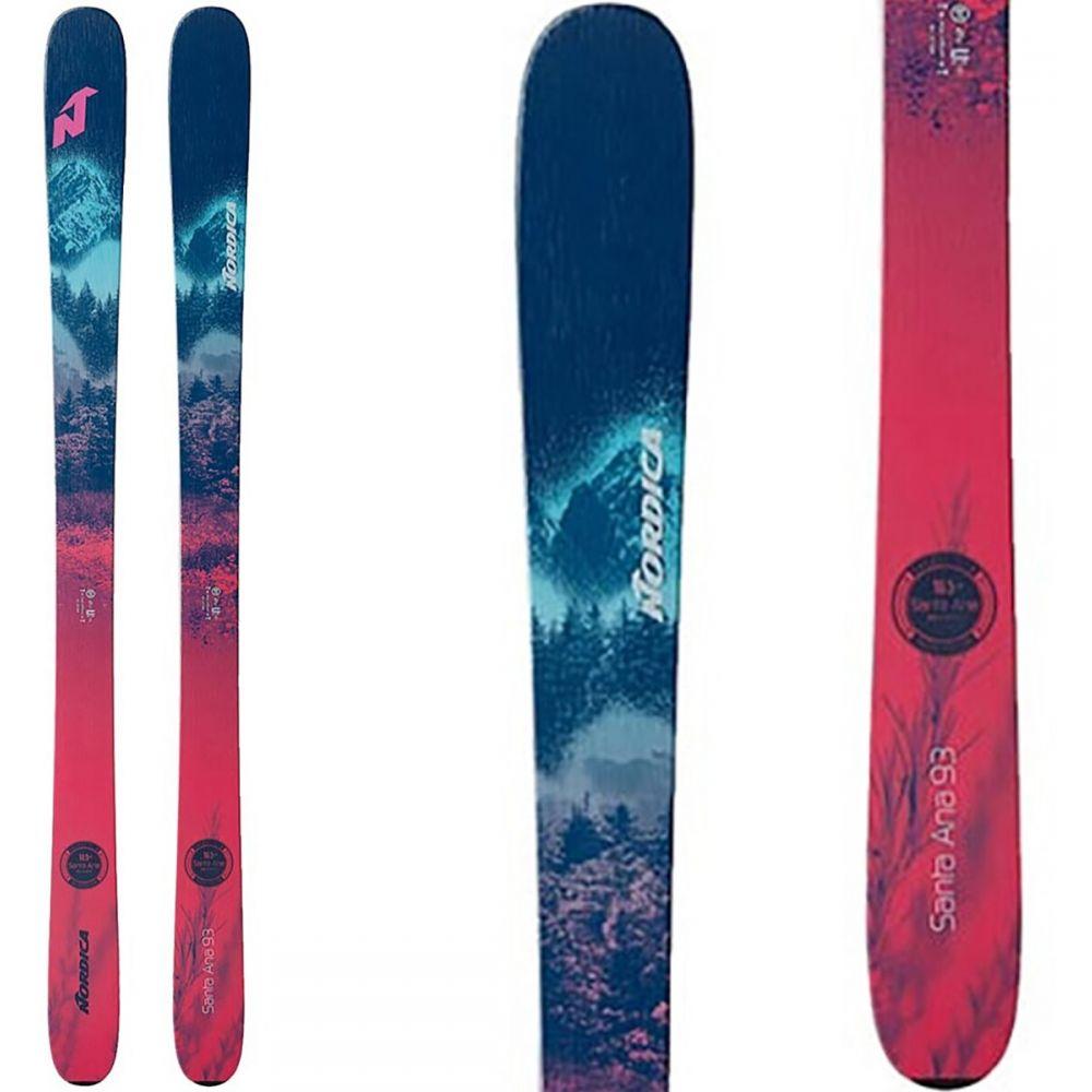 ノルディカ Nordica レディース スキー・スノーボード ボード・板【Santa Ana 93 Skis 2021】Blue/Raspberry