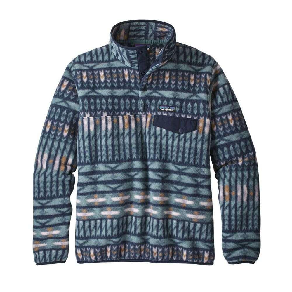 パタゴニア Patagonia レディース フリース トップス【Lightweight Synchilla Snap-T Pullover Fleece】Kuta Klash/Shadow Blue