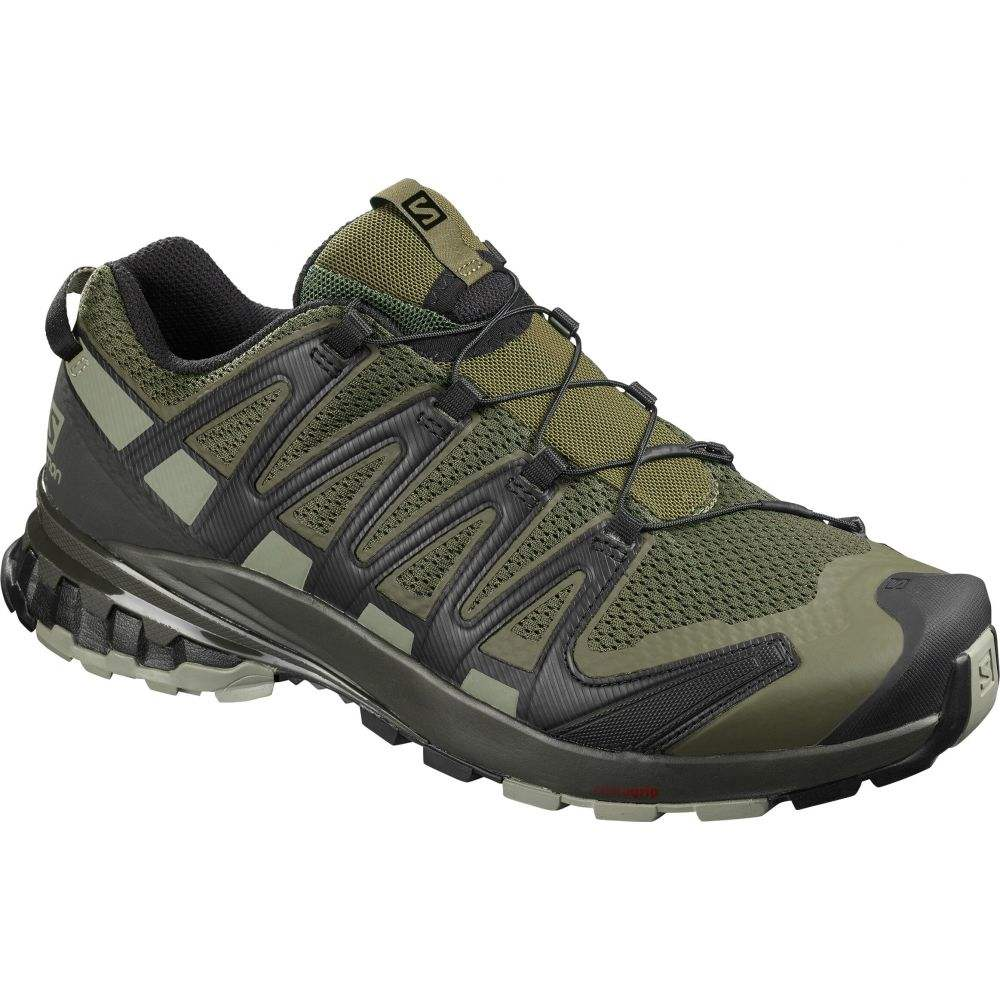 サロモン Salomon メンズ ランニング・ウォーキング シューズ・靴【XA Pro 3D V8 Wide Trail Running Shoes】Grape Leaf/Peat/Shadow