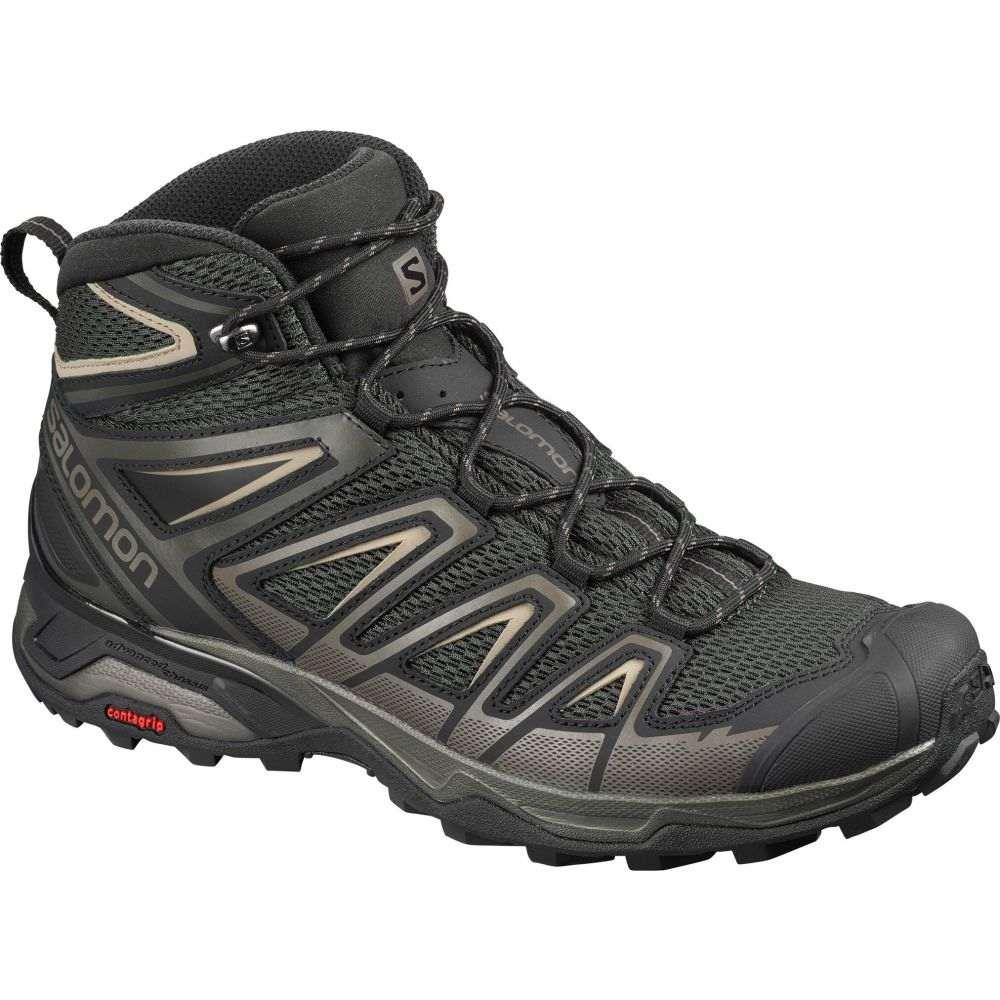 サロモン Salomon メンズ ハイキング・登山 シューズ・靴【X Ultra Mid 3 Aero Hiking Boots】Peat/Bungee Coard/Vintage Khaki