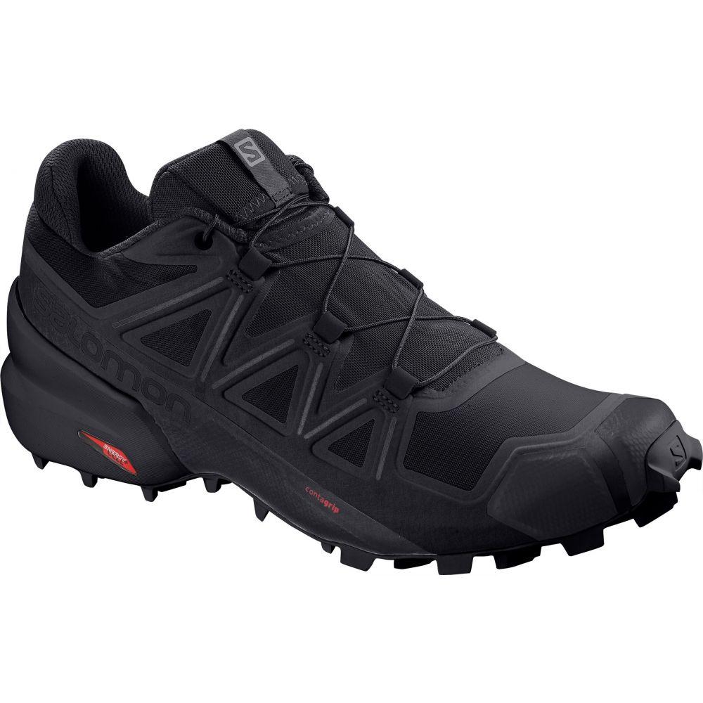 サロモン Salomon メンズ ランニング・ウォーキング シューズ・靴【Speedcross 5 Trail Running Shoes】Black/Black/Phantom
